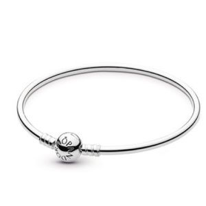 New Pandora sterling silver bangle bracelet